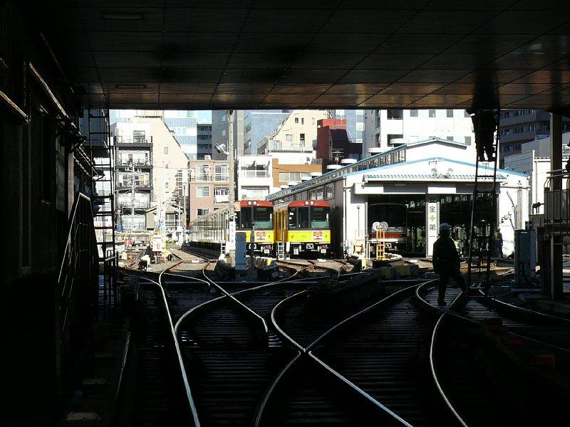 地下鉄の踏切